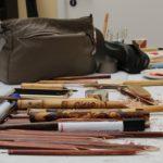 Abhaltung des eintägigen Workshop der Grundlagen der Kaligraphie